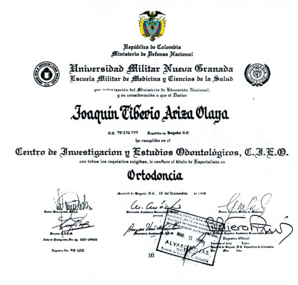 diploma-ortodoncista